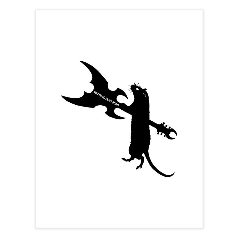 Petting Zoo 2020 Metal Rat 1 Home Fine Art Print by Anapalana by Tona Williams Artist Shop