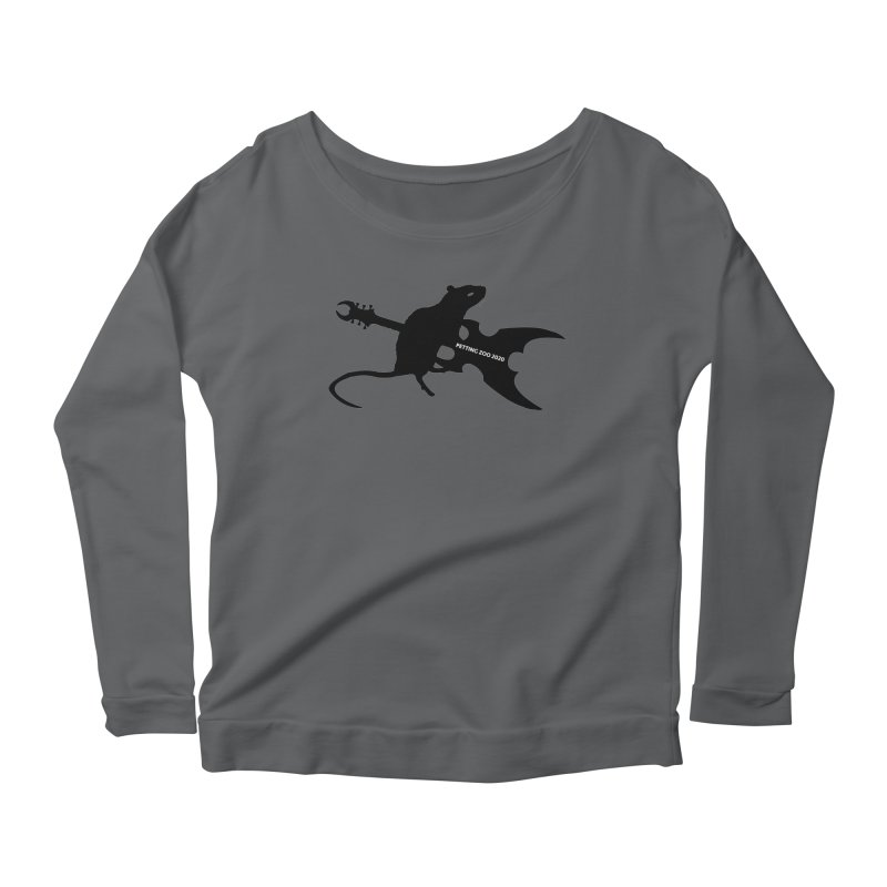 Petting Zoo 2020 Metal Rat 2 Women's Longsleeve T-Shirt by Anapalana by Tona Williams Artist Shop