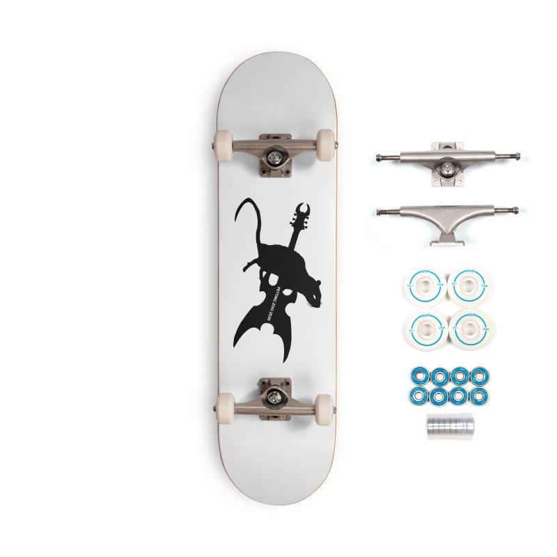 Petting Zoo 2020 Metal Rat 2 Accessories Skateboard by Anapalana by Tona Williams Artist Shop