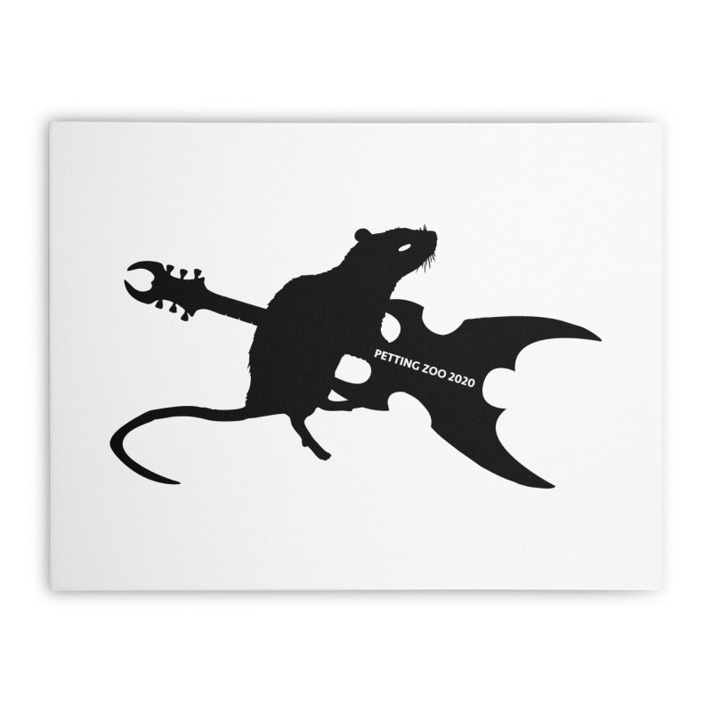 Petting Zoo 2020 Metal Rat 2 Home Stretched Canvas by Anapalana by Tona Williams Artist Shop