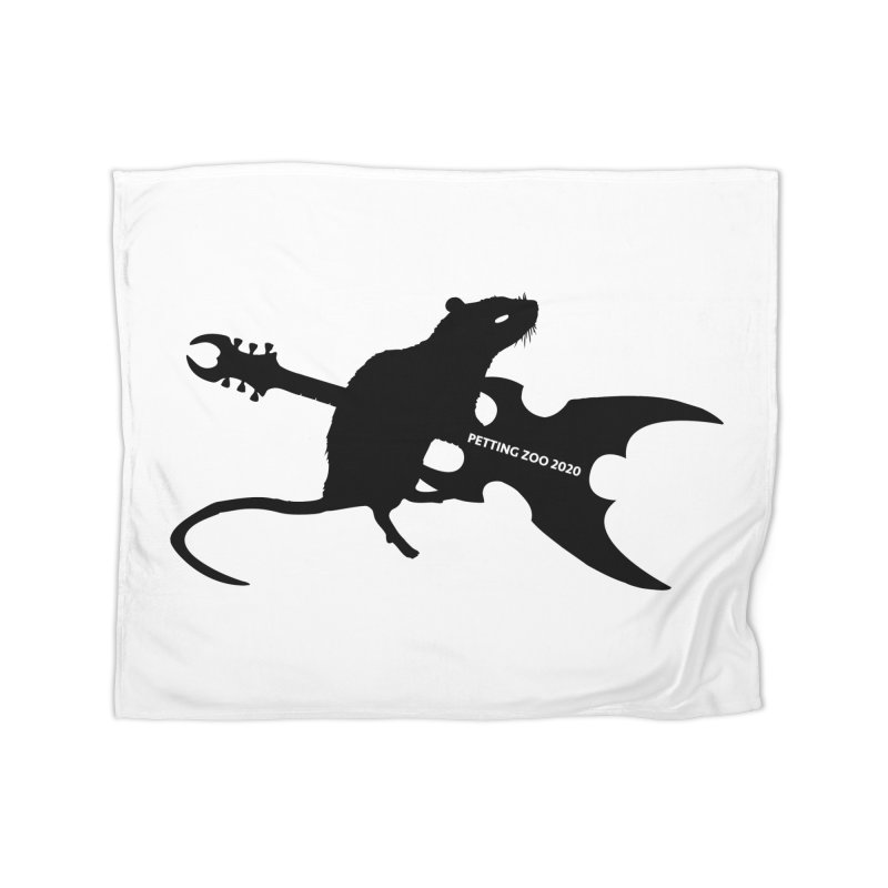 Petting Zoo 2020 Metal Rat 2 Home Blanket by Anapalana by Tona Williams Artist Shop