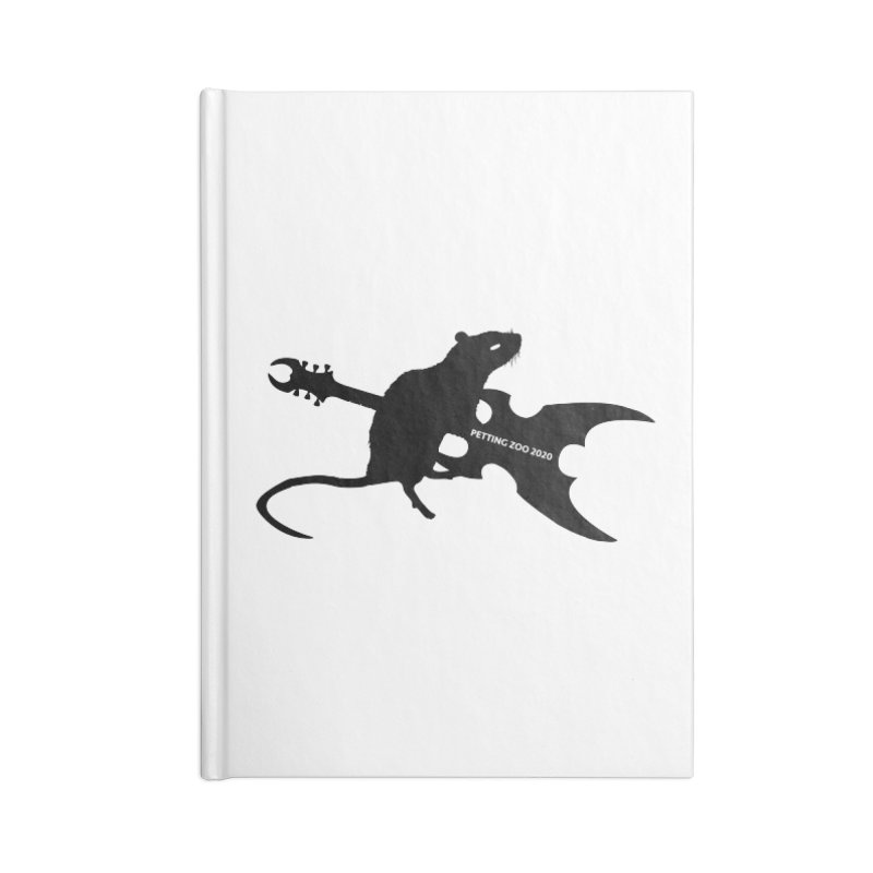 Petting Zoo 2020 Metal Rat 2 Accessories Notebook by Anapalana by Tona Williams Artist Shop