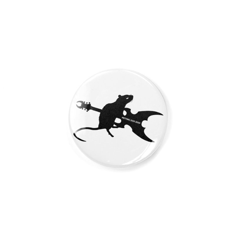 Petting Zoo 2020 Metal Rat 2 Accessories Button by Anapalana by Tona Williams Artist Shop