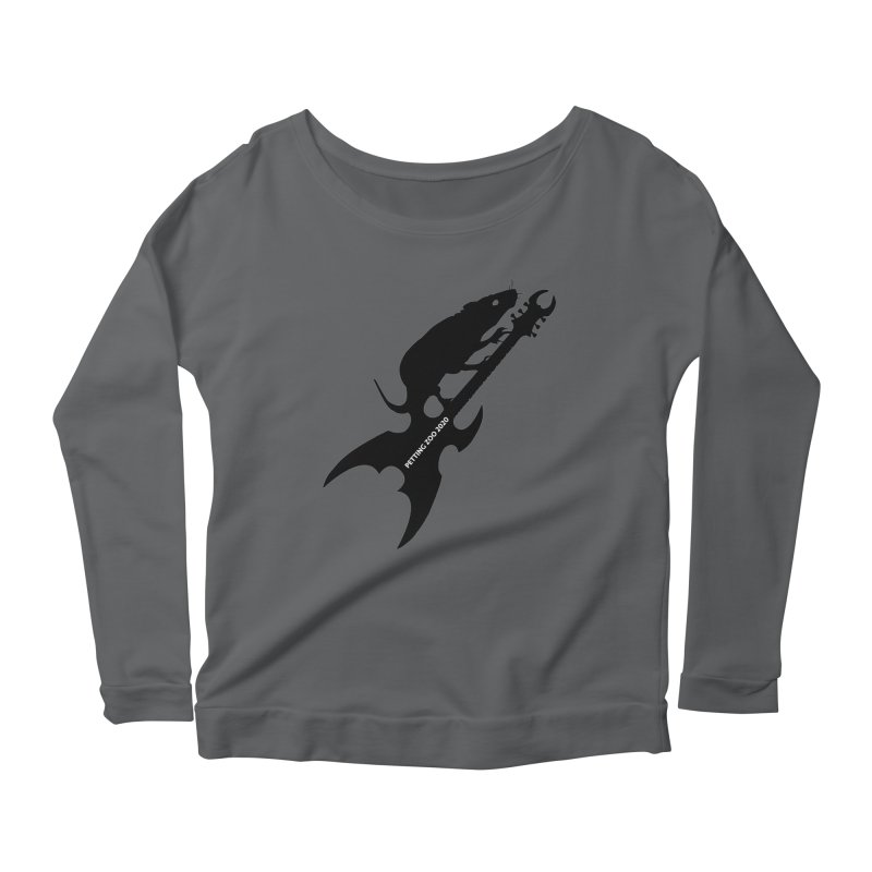 Petting Zoo 2020 Metal Rat 3 Women's Longsleeve T-Shirt by Anapalana by Tona Williams Artist Shop