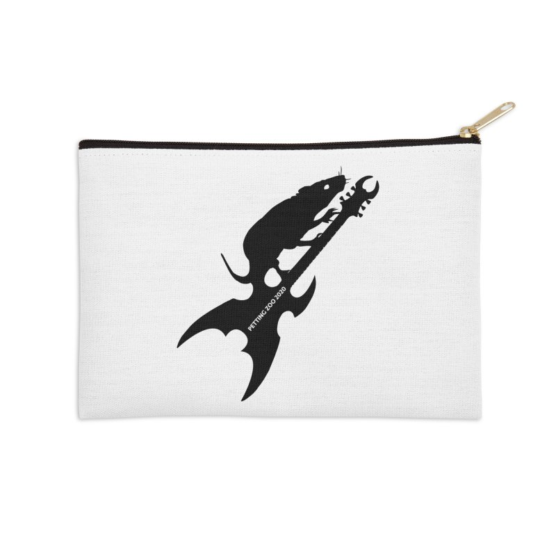 Petting Zoo 2020 Metal Rat 3 Accessories Zip Pouch by Anapalana by Tona Williams Artist Shop