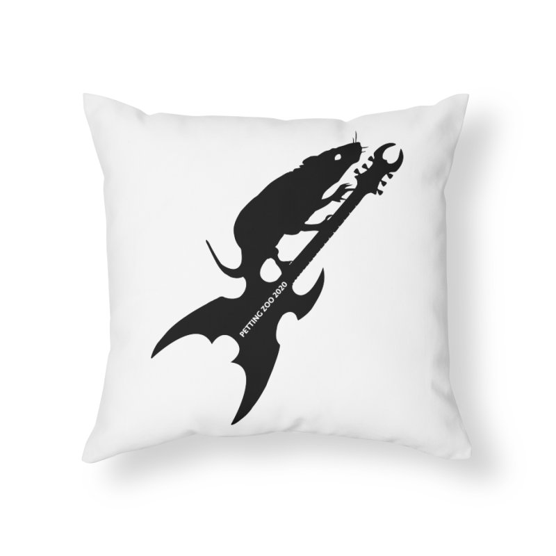 Petting Zoo 2020 Metal Rat 3 Home Throw Pillow by Anapalana by Tona Williams Artist Shop