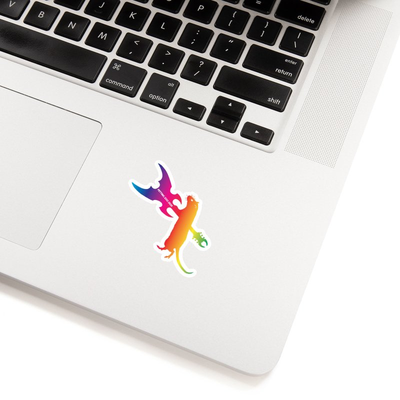 Petting Zoo 2020 Metal Rat 1 Rainbow Accessories Sticker by Anapalana by Tona Williams Artist Shop