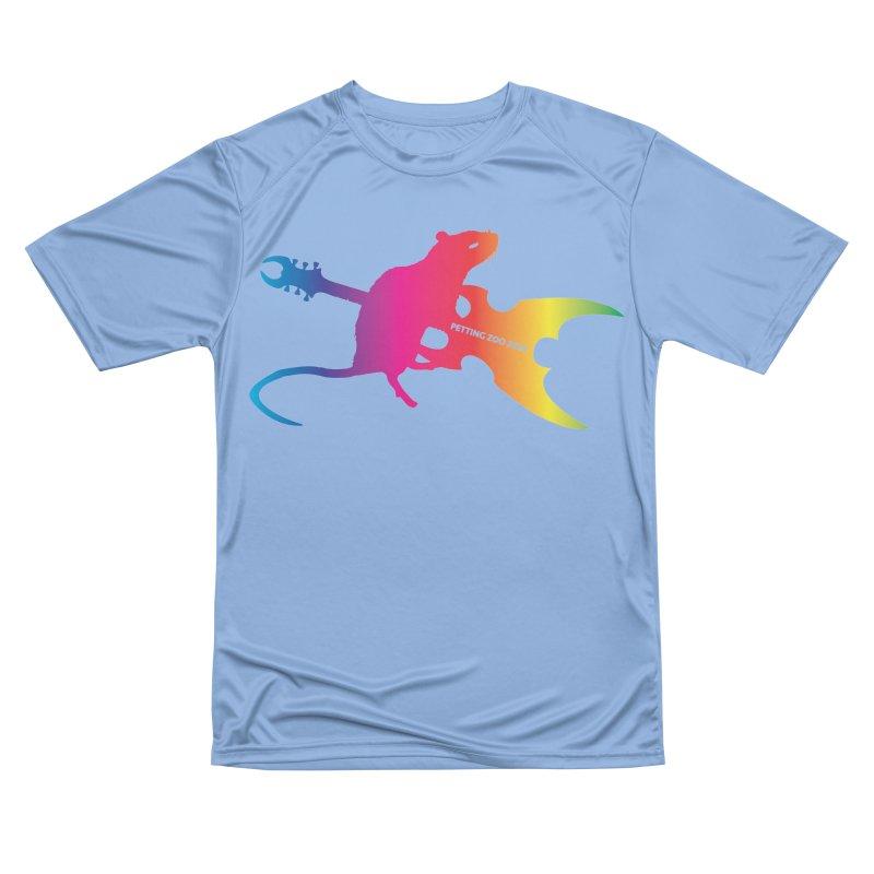 Petting Zoo 2020 Metal Rat 2 Rainbow Women's T-Shirt by Anapalana by Tona Williams Artist Shop