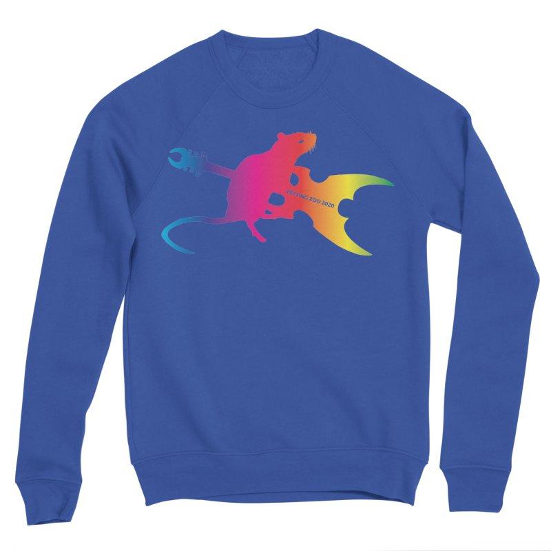 Petting Zoo 2020 Metal Rat 2 Rainbow Women's Sweatshirt by Anapalana by Tona Williams Artist Shop