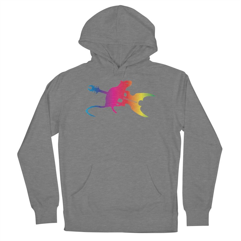Petting Zoo 2020 Metal Rat 2 Rainbow Women's Pullover Hoody by Anapalana by Tona Williams Artist Shop