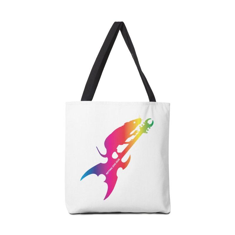 Petting Zoo 2020 Metal Rat 3 Rainbow Accessories Bag by Anapalana by Tona Williams Artist Shop