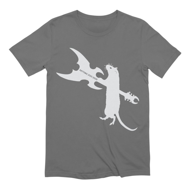 Petting Zoo 2020 Metal Rat 1 Light Men's T-Shirt by Anapalana by Tona Williams Artist Shop