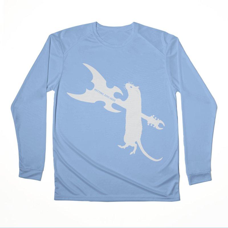Petting Zoo 2020 Metal Rat 1 Light Men's Longsleeve T-Shirt by Anapalana by Tona Williams Artist Shop