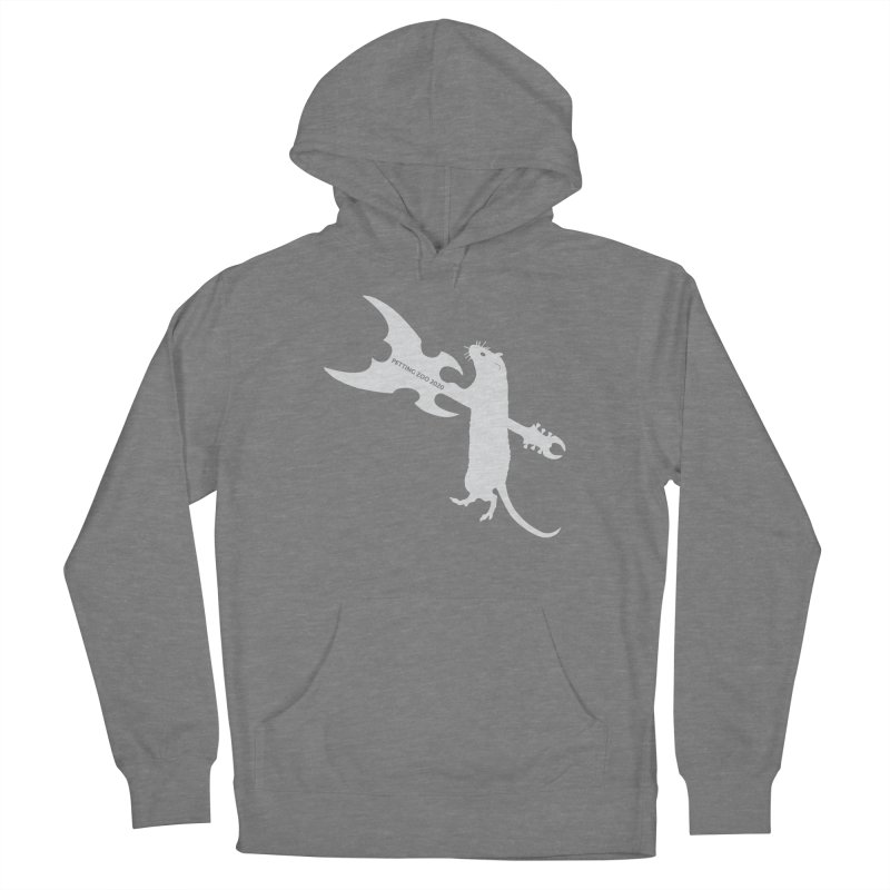 Petting Zoo 2020 Metal Rat 1 Light Women's Pullover Hoody by Anapalana by Tona Williams Artist Shop