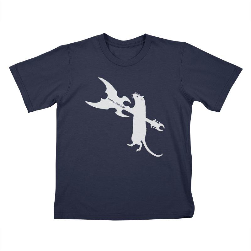 Petting Zoo 2020 Metal Rat 1 Light Kids T-Shirt by Anapalana by Tona Williams Artist Shop
