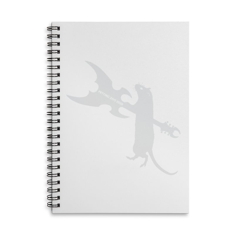 Petting Zoo 2020 Metal Rat 1 Light Accessories Notebook by Anapalana by Tona Williams Artist Shop