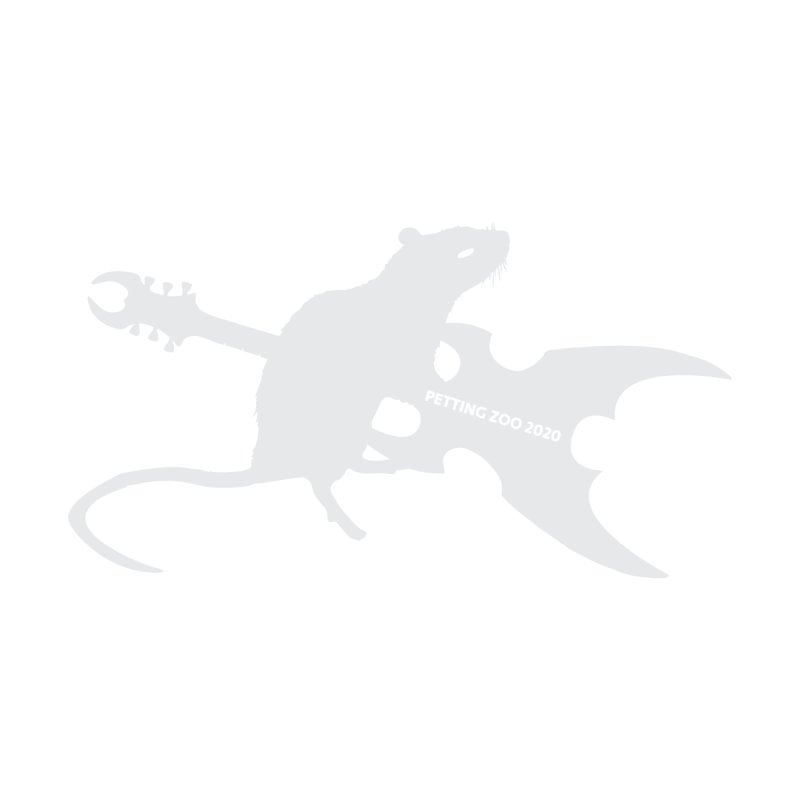 Petting Zoo 2020 Metal Rat 2 Light Accessories Sticker by Anapalana by Tona Williams Artist Shop