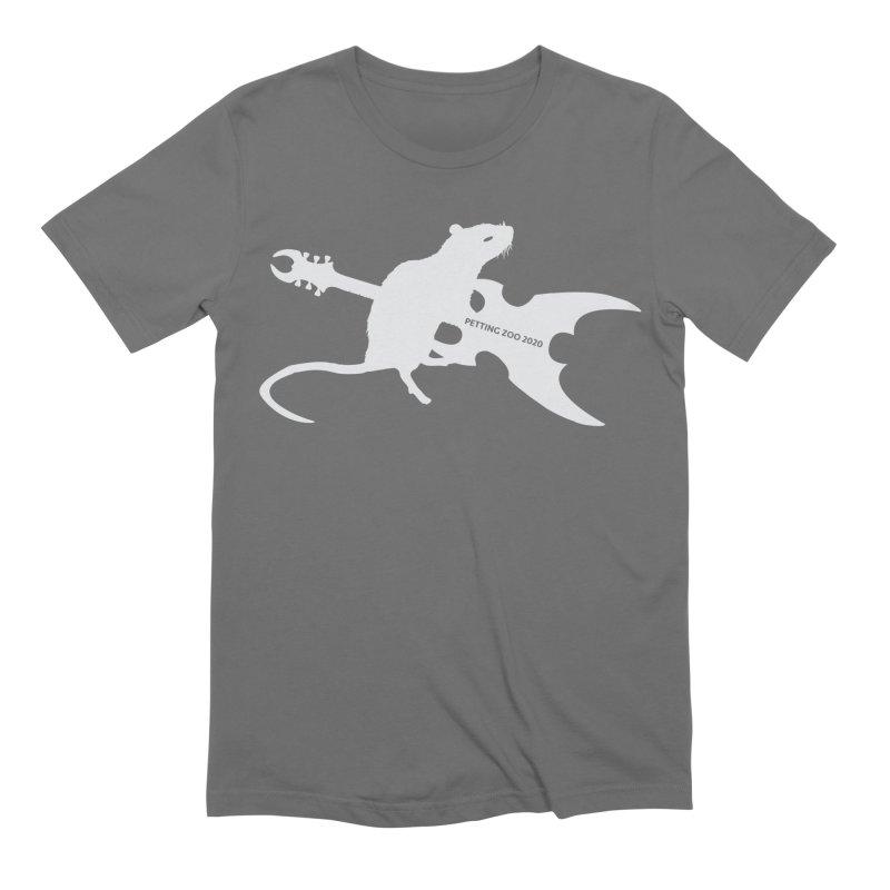 Petting Zoo 2020 Metal Rat 2 Light Men's T-Shirt by Anapalana by Tona Williams Artist Shop