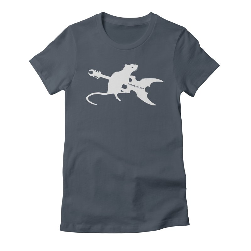 Petting Zoo 2020 Metal Rat 2 Light Women's T-Shirt by Anapalana by Tona Williams Artist Shop