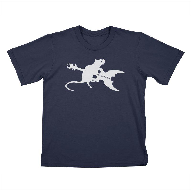 Petting Zoo 2020 Metal Rat 2 Light Kids T-Shirt by Anapalana by Tona Williams Artist Shop