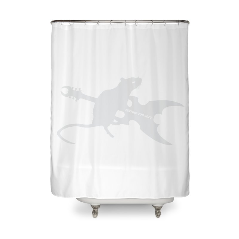 Petting Zoo 2020 Metal Rat 2 Light Home Shower Curtain by Anapalana by Tona Williams Artist Shop