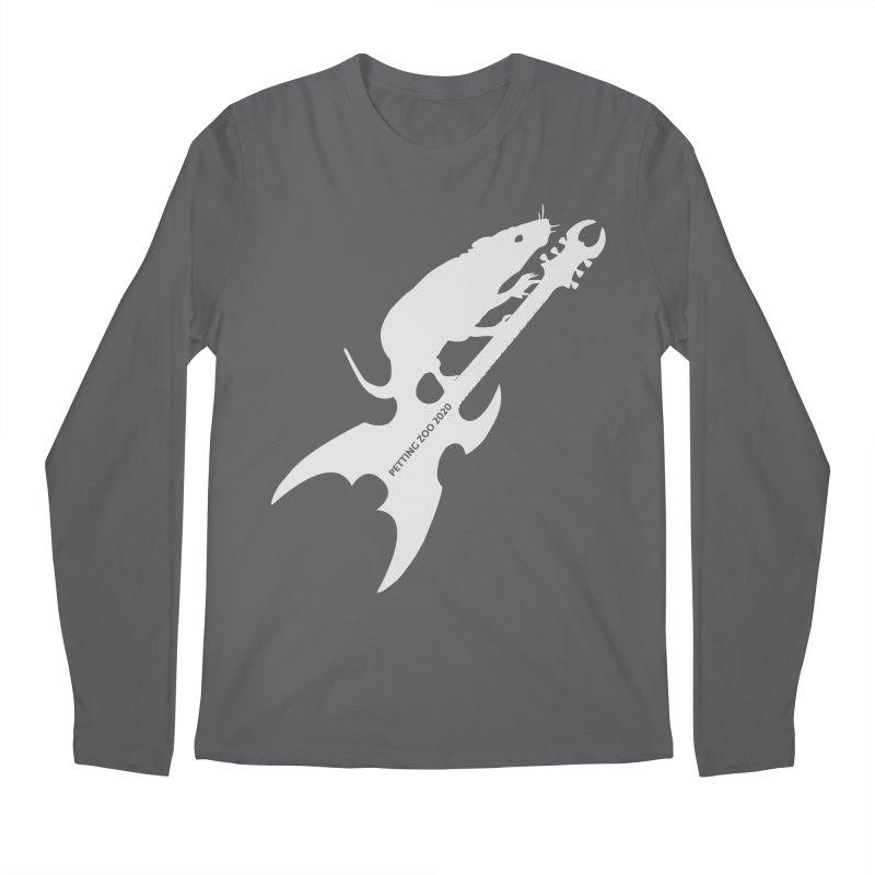 Petting Zoo 2020 Metal Rat 3 Light Men's Longsleeve T-Shirt by Anapalana by Tona Williams Artist Shop
