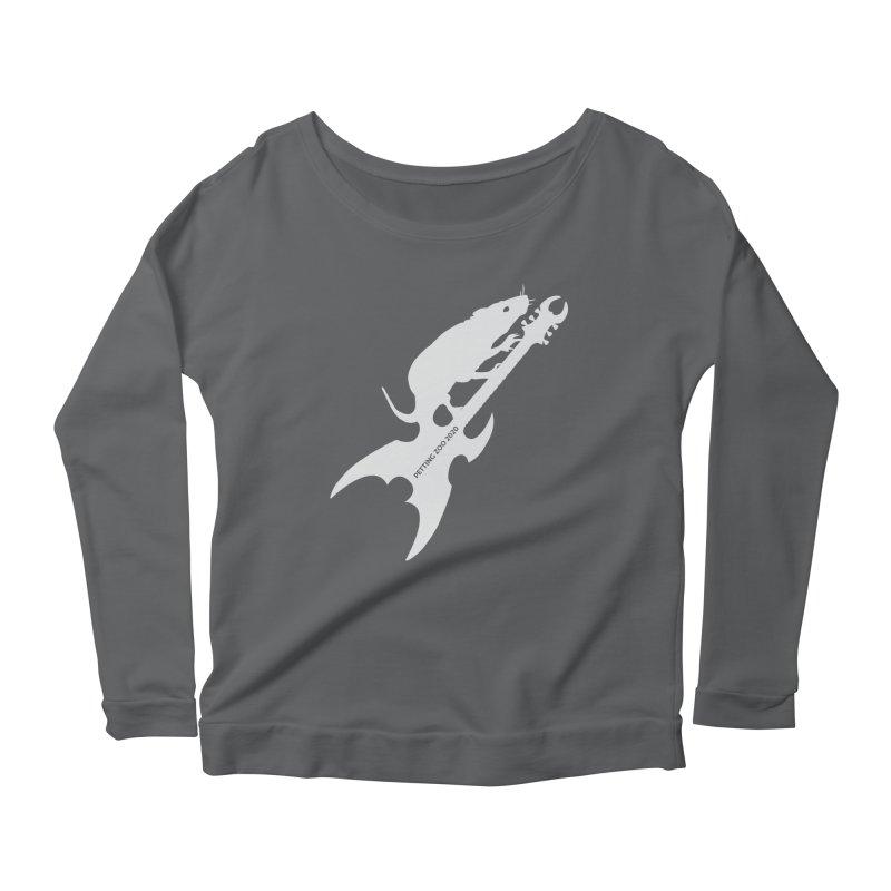 Petting Zoo 2020 Metal Rat 3 Light Women's Longsleeve T-Shirt by Anapalana by Tona Williams Artist Shop