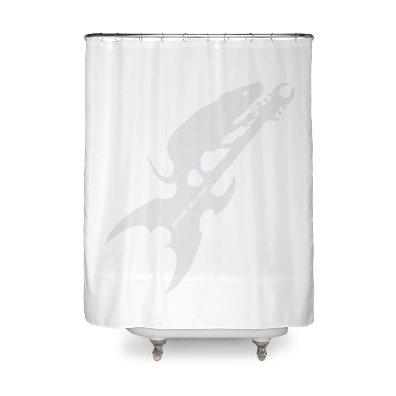 Petting Zoo 2020 Metal Rat 3 Light Home Shower Curtain by Anapalana by Tona Williams Artist Shop