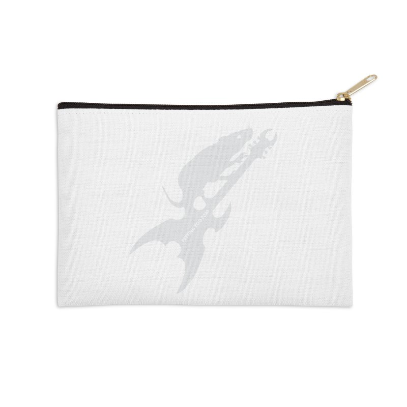 Petting Zoo 2020 Metal Rat 3 Light Accessories Zip Pouch by Anapalana by Tona Williams Artist Shop