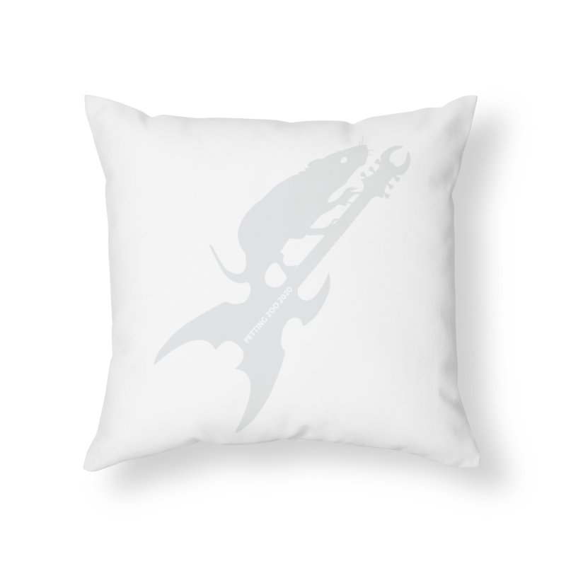 Petting Zoo 2020 Metal Rat 3 Light Home Throw Pillow by Anapalana by Tona Williams Artist Shop