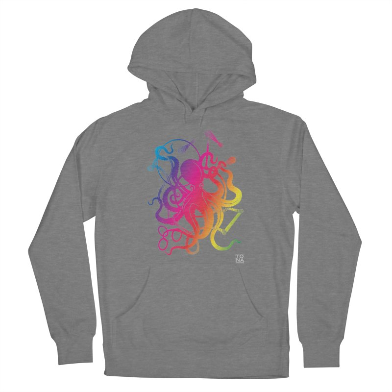 Rainbow Circus Octopus! Women's Pullover Hoody by Anapalana by Tona Williams Artist Shop
