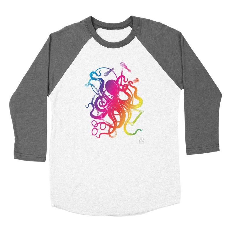 Rainbow Circus Octopus! Women's Longsleeve T-Shirt by Anapalana by Tona Williams Artist Shop