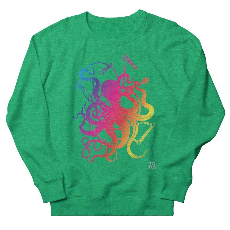 Rainbow Circus Octopus! Women's Sweatshirt by Anapalana by Tona Williams Artist Shop