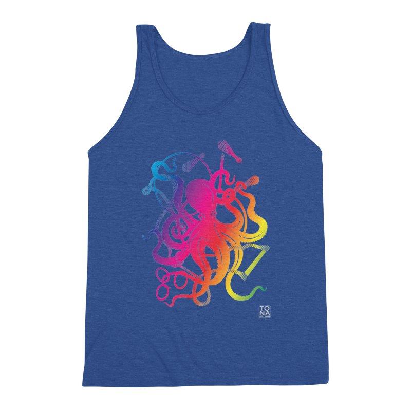 Rainbow Circus Octopus! Men's Tank by Anapalana by Tona Williams Artist Shop