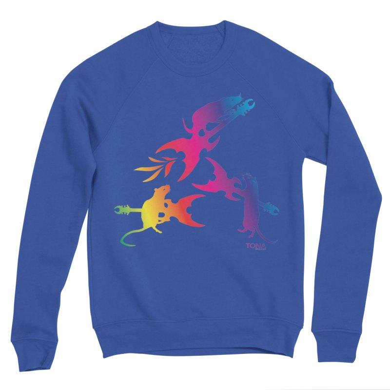Rainbow Metal Rats Women's Sweatshirt by Anapalana by Tona Williams Artist Shop