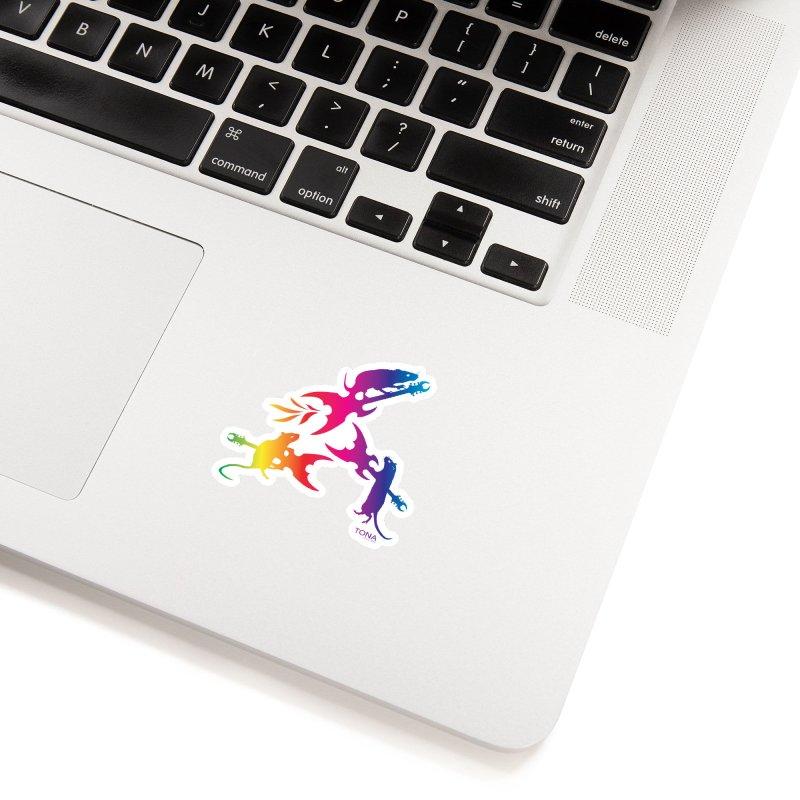 Rainbow Metal Rats Accessories Sticker by Anapalana by Tona Williams Artist Shop