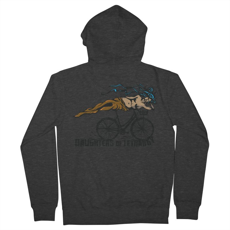 Daughters of Lethargy - Earth Tones Women's Zip-Up Hoody by Anapalana by Tona Williams Artist Shop