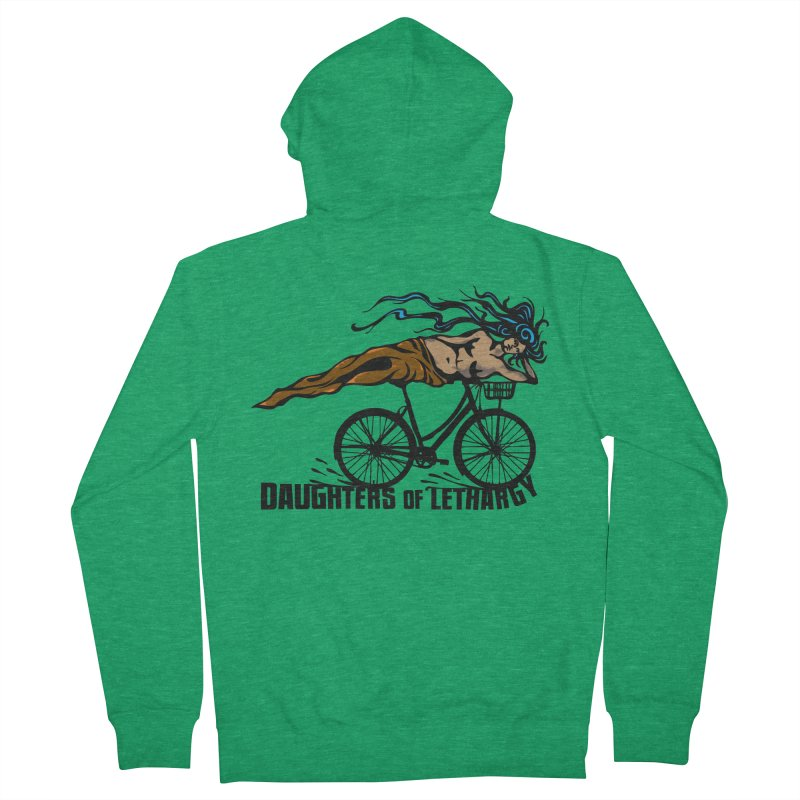 Daughters of Lethargy - Earth Tones Men's French Terry Zip-Up Hoody by Anapalana by Tona Williams Artist Shop