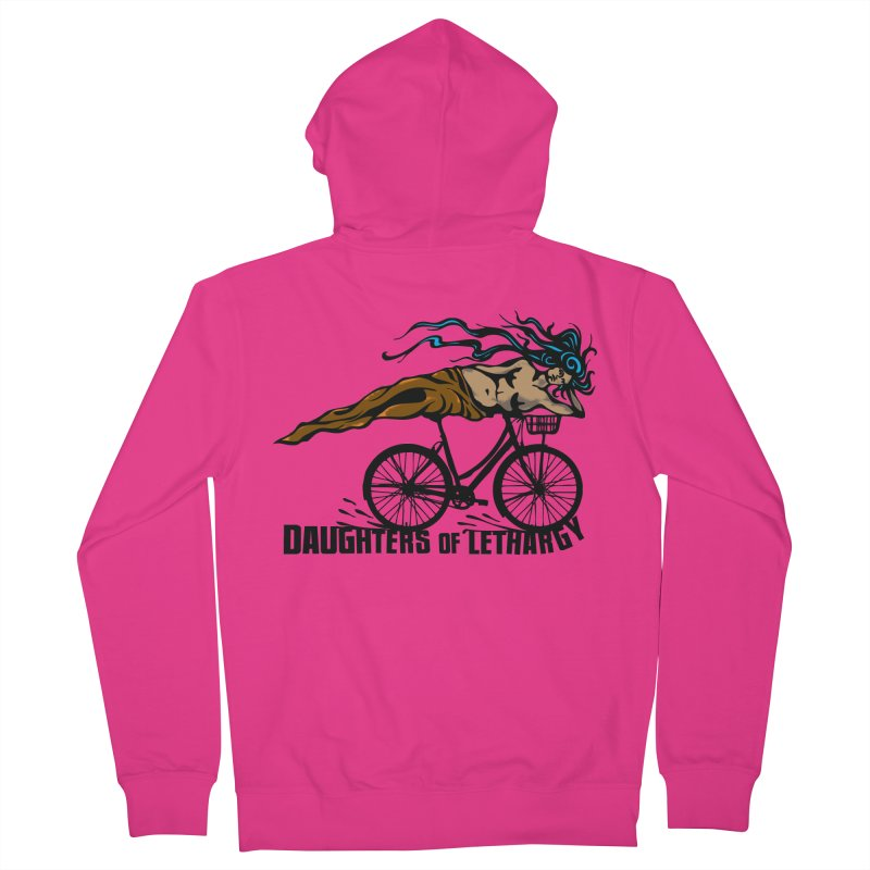 Daughters of Lethargy - Earth Tones Men's Zip-Up Hoody by Anapalana by Tona Williams Artist Shop