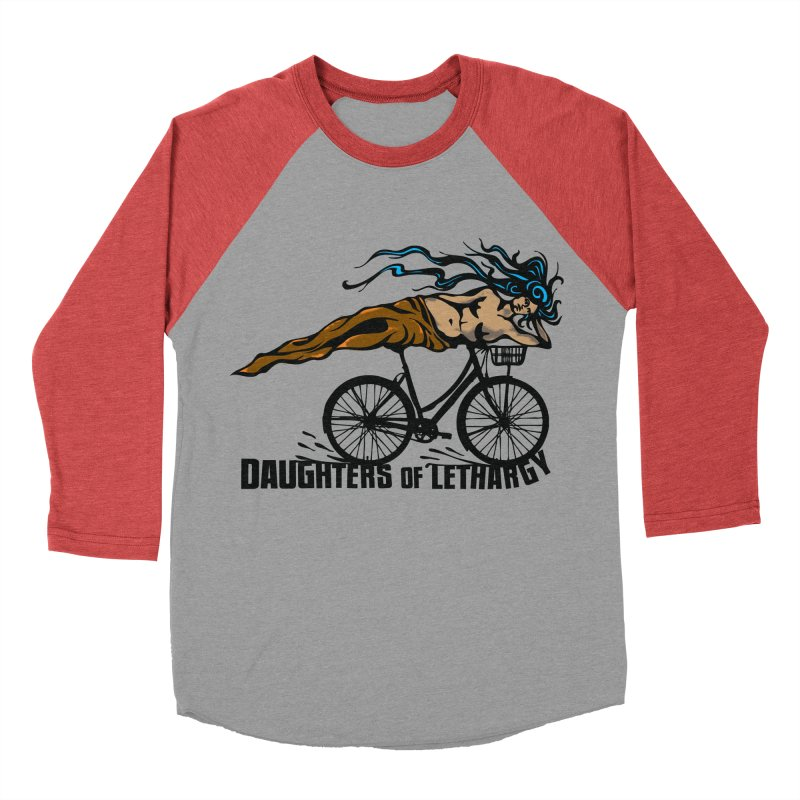 Daughters of Lethargy - Earth Tones Men's Baseball Triblend T-Shirt by Anapalana by Tona Williams Artist Shop