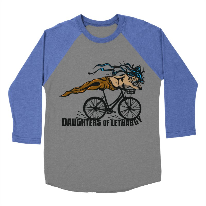 Daughters of Lethargy - Earth Tones Men's Baseball Triblend Longsleeve T-Shirt by Anapalana by Tona Williams Artist Shop