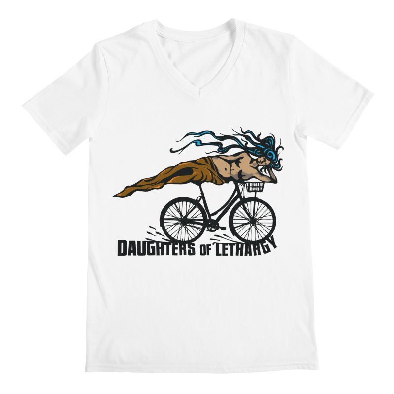 Daughters of Lethargy - Earth Tones Men's Regular V-Neck by Anapalana by Tona Williams Artist Shop