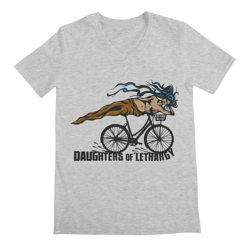 Daughters of Lethargy - Earth Tones Men's V-Neck by Anapalana by Tona Williams Artist Shop