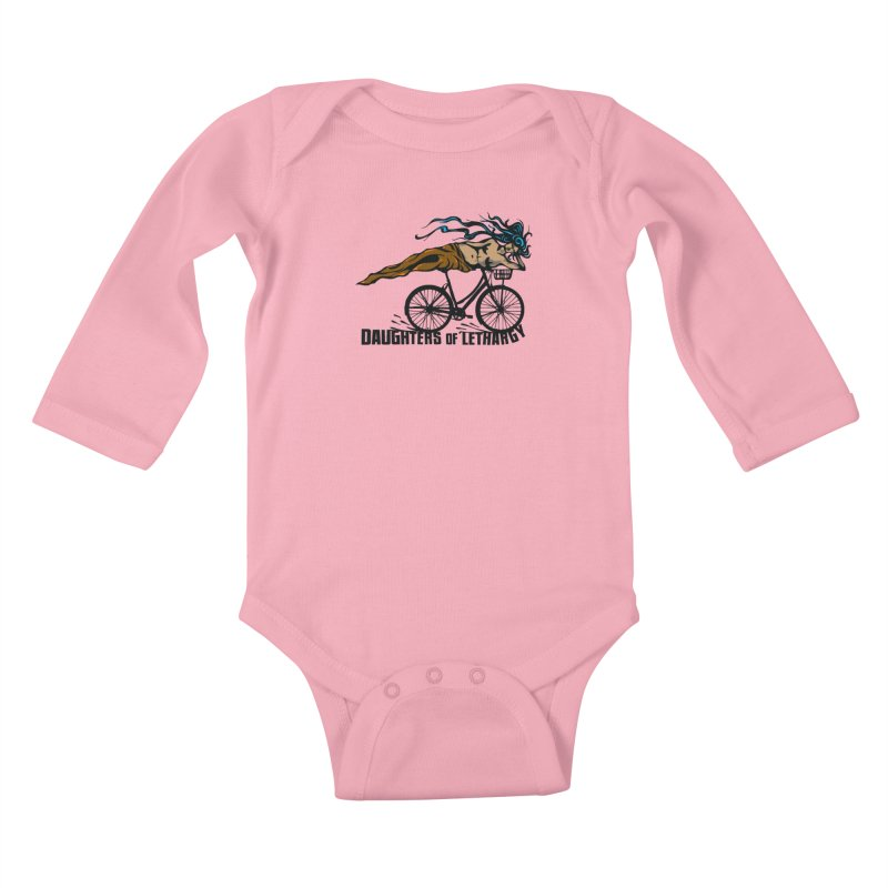 Daughters of Lethargy - Earth Tones Kids Baby Longsleeve Bodysuit by Anapalana by Tona Williams Artist Shop