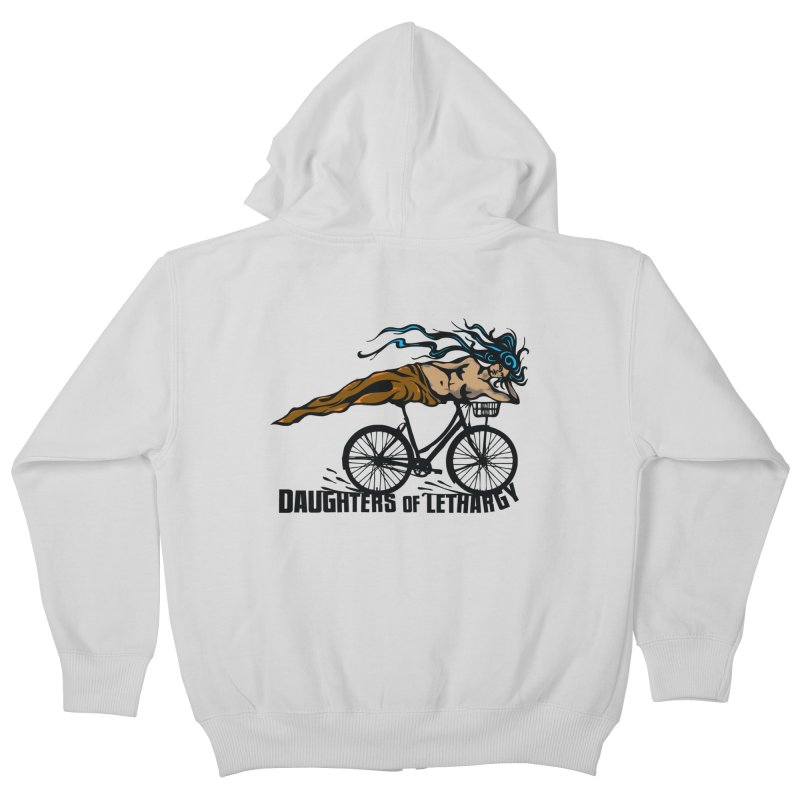 Daughters of Lethargy - Earth Tones Kids Zip-Up Hoody by Anapalana by Tona Williams Artist Shop
