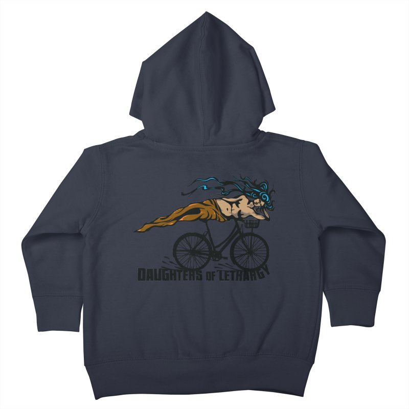 Daughters of Lethargy - Earth Tones Kids Toddler Zip-Up Hoody by Anapalana by Tona Williams Artist Shop