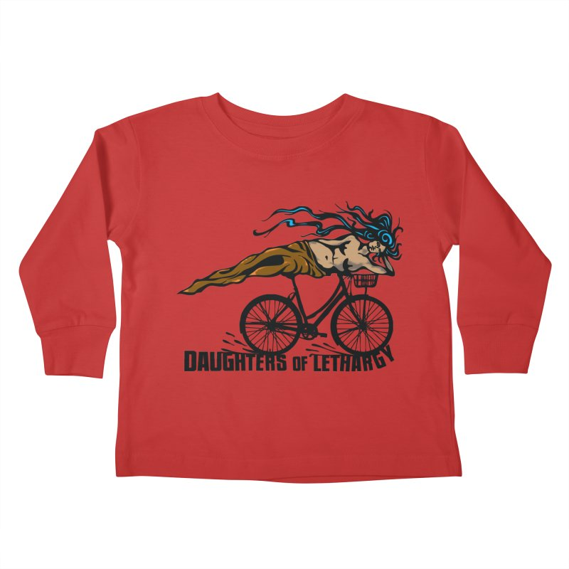 Daughters of Lethargy - Earth Tones Kids Toddler Longsleeve T-Shirt by Anapalana by Tona Williams Artist Shop