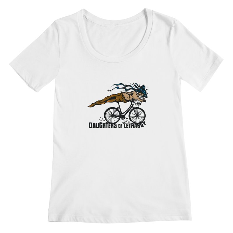 Daughters of Lethargy - Earth Tones Women's Scoopneck by Anapalana by Tona Williams Artist Shop