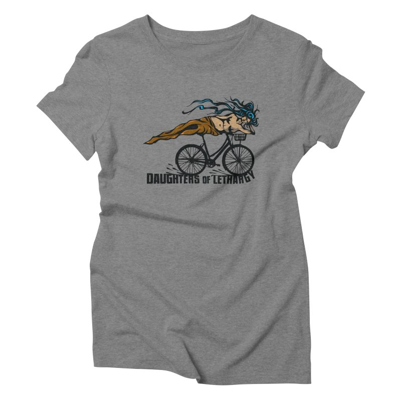 Daughters of Lethargy - Earth Tones Women's Triblend T-Shirt by Anapalana by Tona Williams Artist Shop