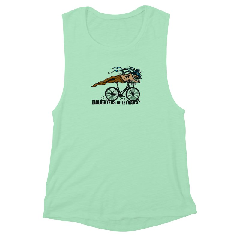 Daughters of Lethargy - Earth Tones Women's Muscle Tank by Anapalana by Tona Williams Artist Shop
